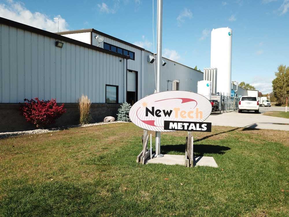 New Tech Metals exterior