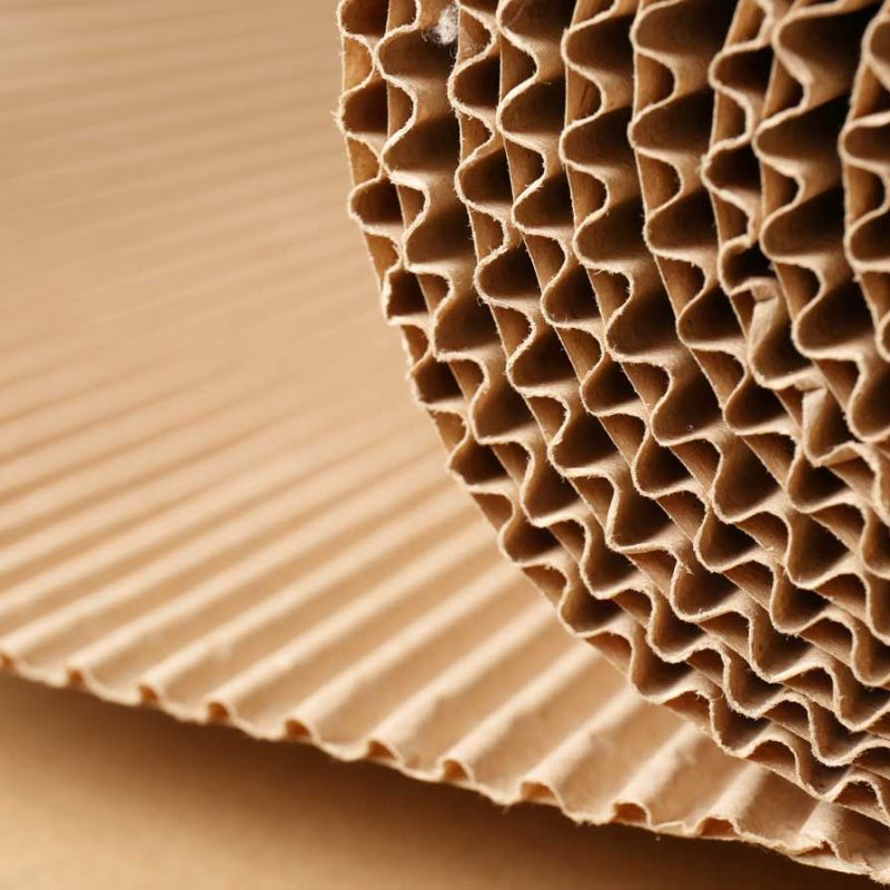 corrugated paper production fabrication